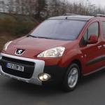Peugeot Partner, le ludospace voiture de l'année 2009