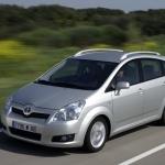 Toyota Corolla Verso: spacieuse mais limitée