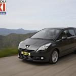La Peugeot 5008, élu «taxi de l'année»