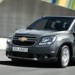 Chevrolet lance les commandes de son nouveau monospace, l'Orlando