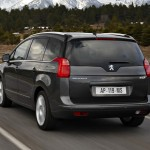 Peugeot 5008 en vue arrière