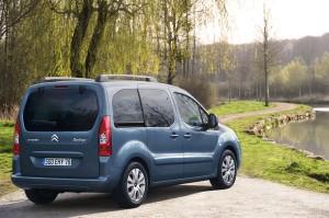 le Berlingo II de Citroën en vue arriere