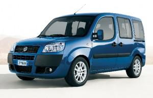 Fiat Doblo ludospace vue de face