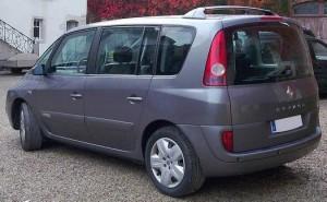 Renault Espace IV vue de derriere