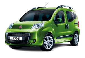 Fiat Fiorino Qubo, le ludospace en vue avant