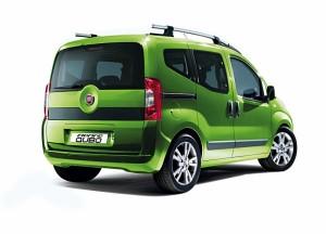 Fiat Fiorino Qubo en vue arriere