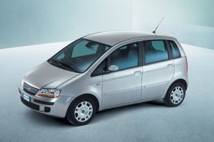 Fiat Idea en face avant
