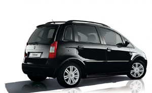 Fiat Idea en face arriere