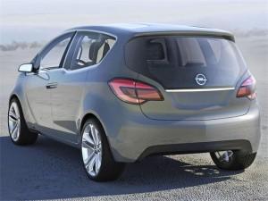 Opel Meriva 2009 en vue arriere