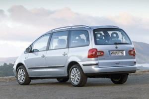 Volkswagen sharan vue de derriere