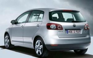 Volkswagen Golf Plus vue de l'arriere